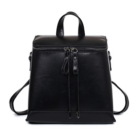 Ericdress Vintage Solid Color Messenger Backpack