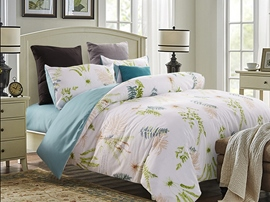 Ericdress Pastorable Plant Print Cotton Bedding Sets