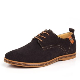 Ericdress Suede Lace up Men's Casual Shoes
