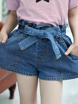 Ericdress Denim Girls Shorts