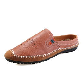 Ericdress Stylish Embossed Slip-On Flat Men's Loafers