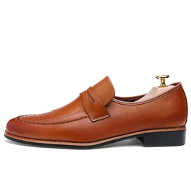 Ericdress Trendy Solid Color Men's Brogues