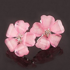 Five Petals Acrylic Earring