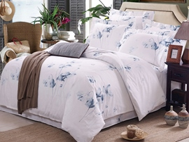 Ericdress Summer Landscape Painting Cotton Bedding Sets