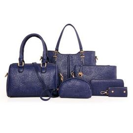 Ericdress Vogue Rose Embossed Handbags(6 Bags)