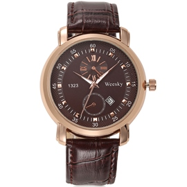 Leisure Ultra-Thin Men's Watch