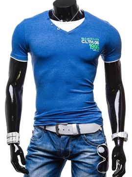 Ericdress Short Sleeve Slim Men's Muscle T-Shirt
