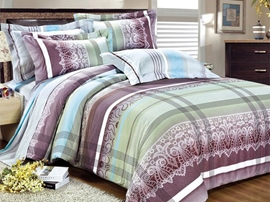Ericdress Love Fashion Stripe Cotton Bedding Sets