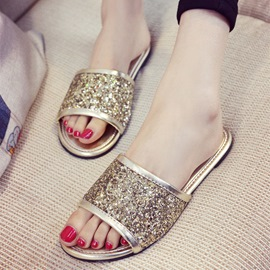 Ericdress Sequins Mules Shoes