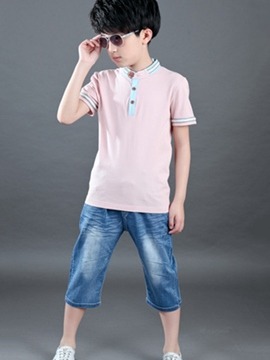 Ericdress Casual Boys Outfit