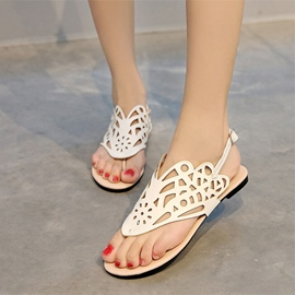 Ericdress Vintage Thong Flat Sandals