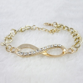 Alloy Gold-Plated Bracelet