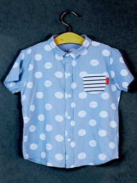 Ericdress Polka Dots Short Sleeve Boys T-Shirt