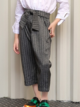 Ericdress Stripe Girls Pants
