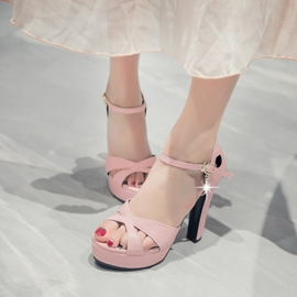 Ericdress Delicate Chunky Sandals