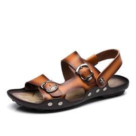 Ericdress British Buckles Men's Beach Sandals
