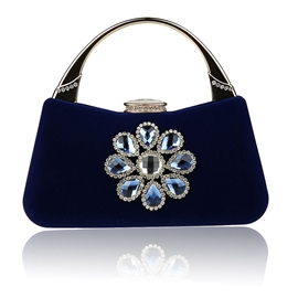 Ericdress Shiny Diamond Flower Evening Clutch