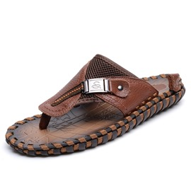 Ericdress Fashion Thong Men's Beach Sandals