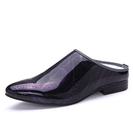 Ericdress Patent Leather Point Toe Men's Loafers