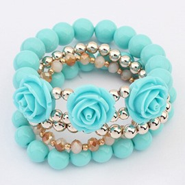 Roses Multilayer Bracelet