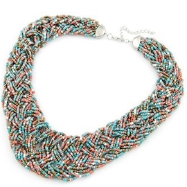 Bohemia Multilayer Beads Necklace