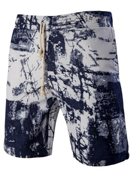 Ericdress Print Loose Casual Men's Shorts with Elastic Waist