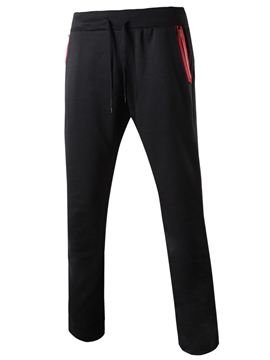 Ericdress Zip Pocket Casual Sports Men's Pants