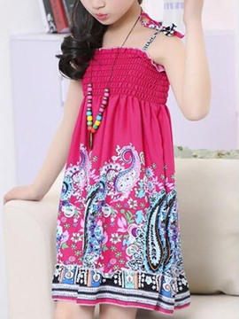 Ericdress Bohemian Sleeveless Girl Dress