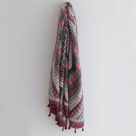 National Style Long Thin Shawl
