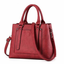Ericdress Classic Embossed Handbag