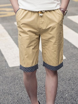 Ericdress Loose Lace-Up Casual Men's Shorts