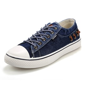 Ericdress Denim Men's Canvas Shoes