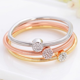 Three Color Spring Bracelet