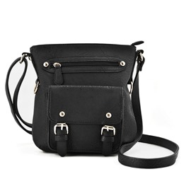 Ericdress Vintage Rivets Decorated Crossbody Bag