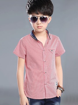 Ericdress Strips Pocket Lapel Formal Boys Outfits