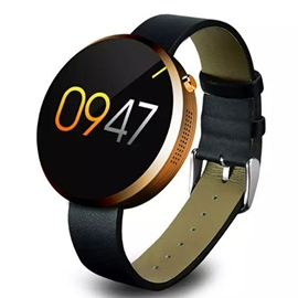 Black Bluetooth Smart Watch
