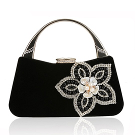 Ericdress Beaded Diamond Flower Evening Clutch