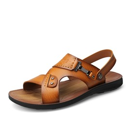 Ericdress Open Toe Men's Beach Sandals