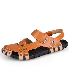 Ericdress Closed Toe Open Door Men's Beach Sandals