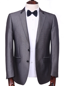 Ericdress Plain Formal Men's Blazer