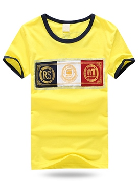 Ericdress Boys Short Sleeve T-Shirt