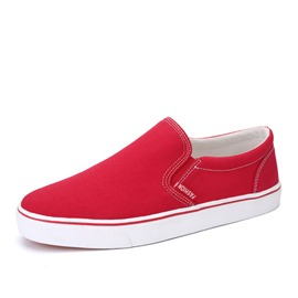 Ericdress Thread Round Toe Slip-On Canvas Shoes