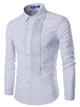 Ericdress Vogue Design Top Quality Long Sleeve Men's Shirt