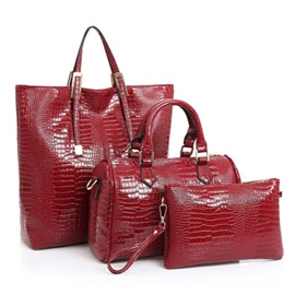 Ericdress European Croco-Embossed Handbags(3 Bags)
