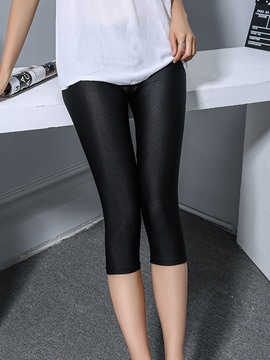 Ericdress Skinny Seven Points Leggings Pants