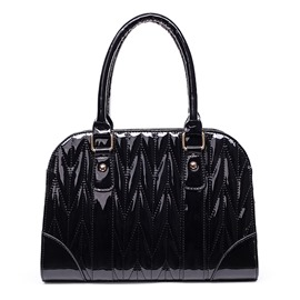 Ericdress Stereotype Grained Shell Handbag