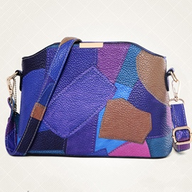 Ericdress Handmade Patchwork Crossbody Bag