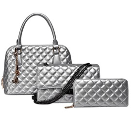 Ericdress Classic Grained Handbags(3 Bags)