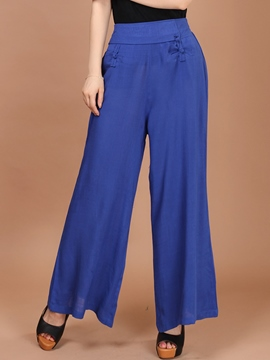 Ericrdess Solid Color Casual Pants