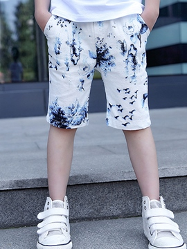 Ericdress Print Boys Shorts